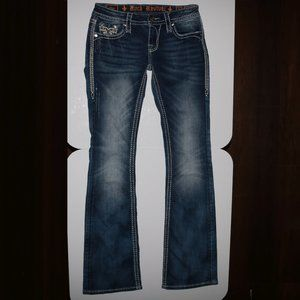 Rock Revival Denim Vika B4 Boot Blue Jeans w28x32